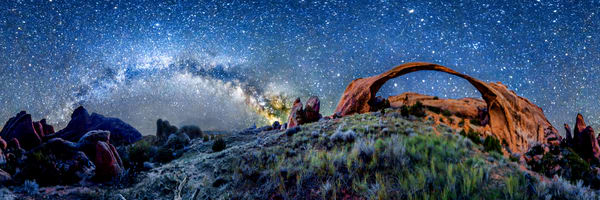 Landscape Arch & The Milky Way